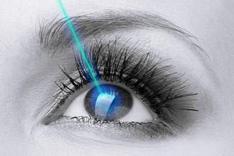 Le laser  des yeux (Technique Classique)